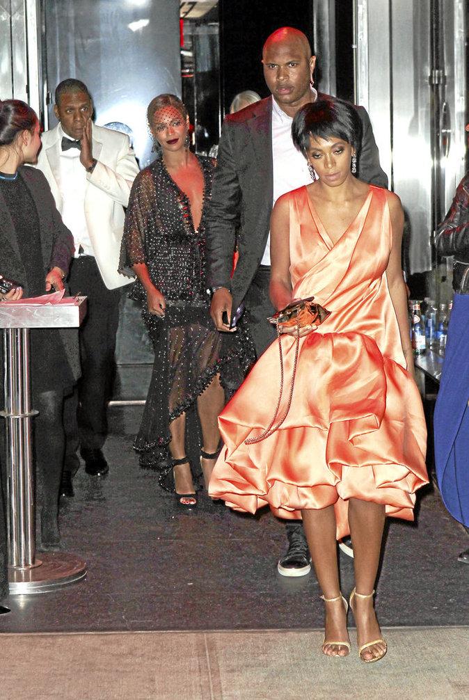Beyoncé, Jay-Z et Solange