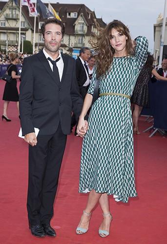 Nicolas Bedos et Doria Tillier à Deauville le 13 septembre 2014