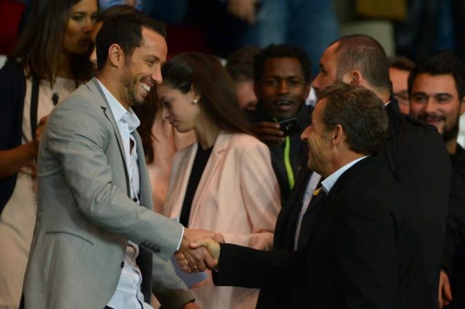 Nicolas Sarkozy le 5 octobre 2014