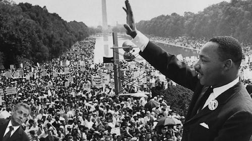 Nicolas Sarkozy et Martin Luther King... chacun son rêve...