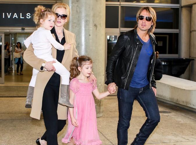 """Nicole Kidman : de retour dans la Cité des Anges après ses adieux à son père """"extraordinaire""""..."""