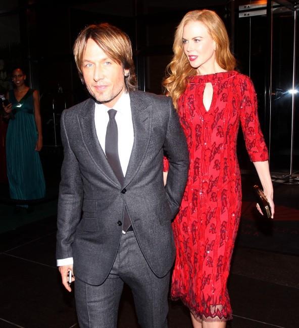 Nicole Kidman et Keith Urban lors du New York Film Festival, le 3 octobre 2012.