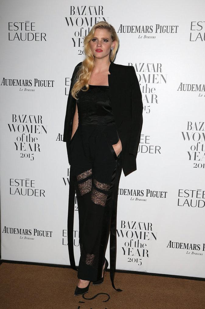 Soirée Harper's Bazaar le 3 novembre 2015