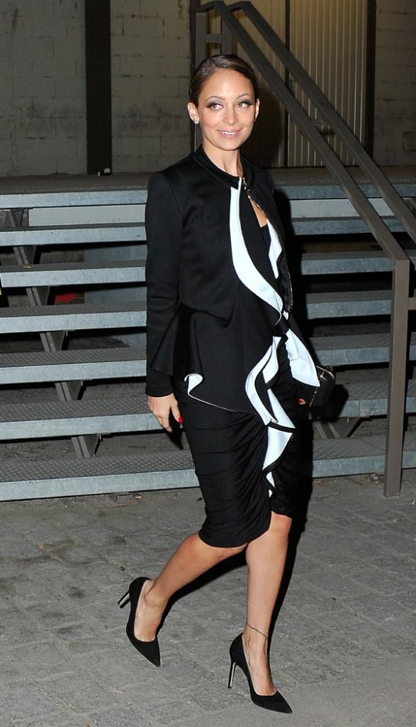 Nicole Richie au défilé Givenchy à Paris le 3 mars 2013