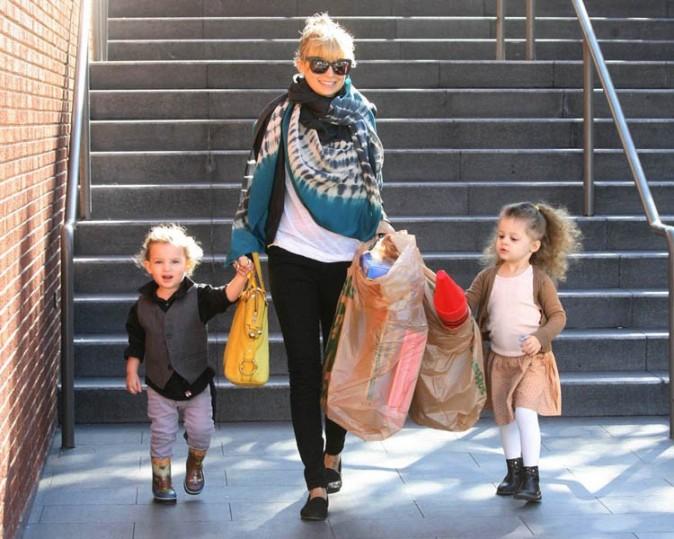 Nicole Richie ou la joie des sorties en famille !