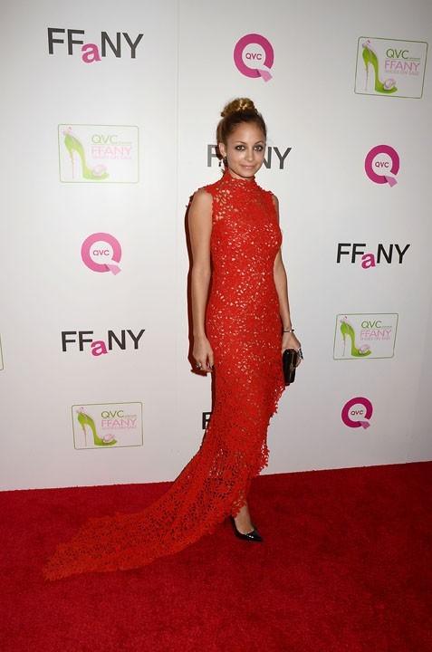 """Nicole Richie au gala """"Shoes on Sale"""" à New-York le 22 octobre 2012"""