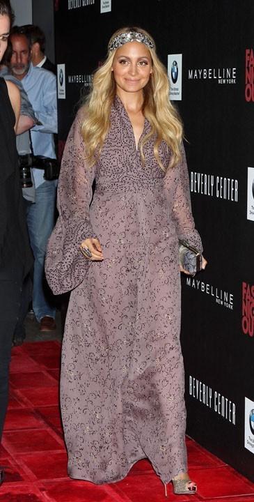 Nicole Richie lors de Fashion's Night Out à Beverly Hills, le 8 septembre 2011.