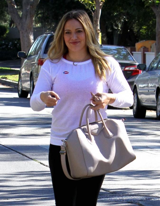 Hilary Duff avec sa maman à Los Angeles le 6 novembre 2012