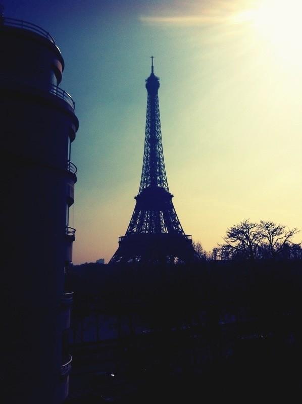Et une photo de la tour Eiffel prise par Nicole Richie !