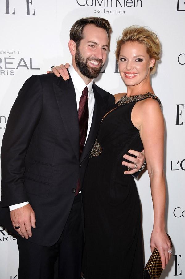 Katherine Heigl et son mari !