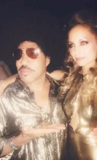 Lionel Richie était bien évidemment là pour sa fille Nicole Richie