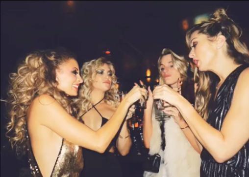 Nicole Richie a invité tous ses amis à une soirée disco pour son anniversaire