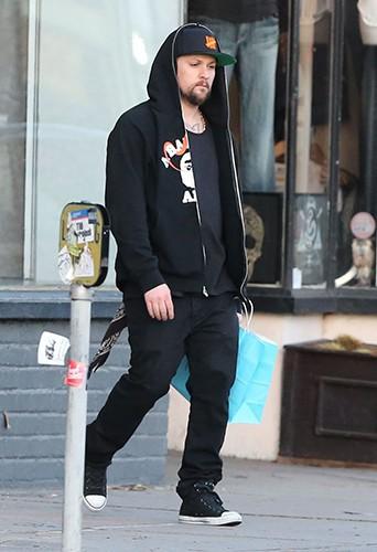 Joel Madden à Los Angeles le 27 décembre 2013