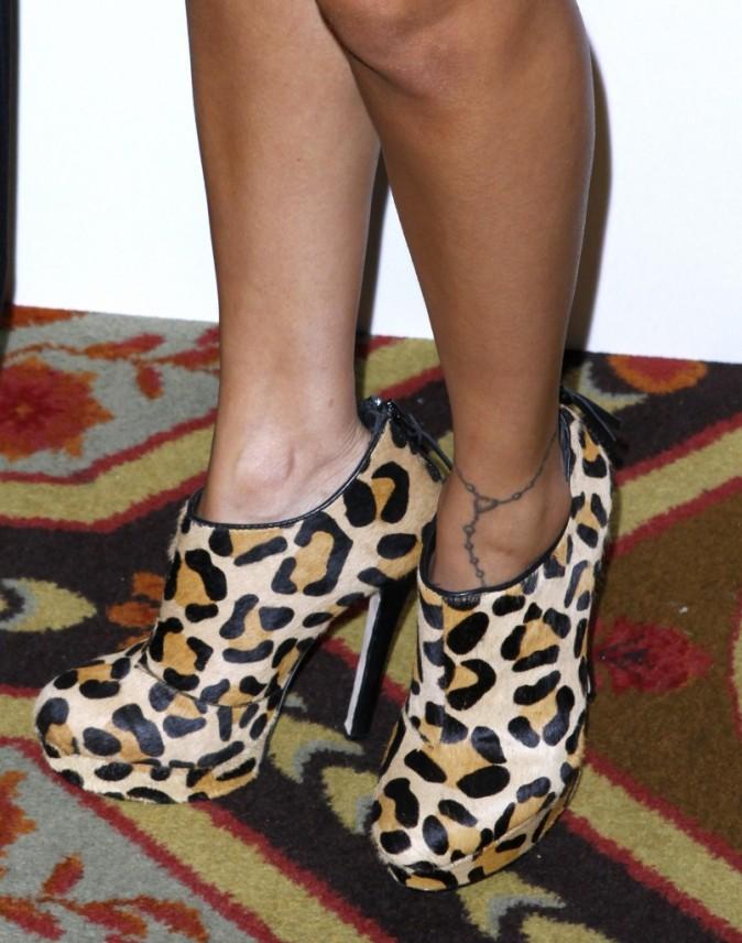Nicole Richie lors d'une soirée à New York, le 13 octobre 2011.