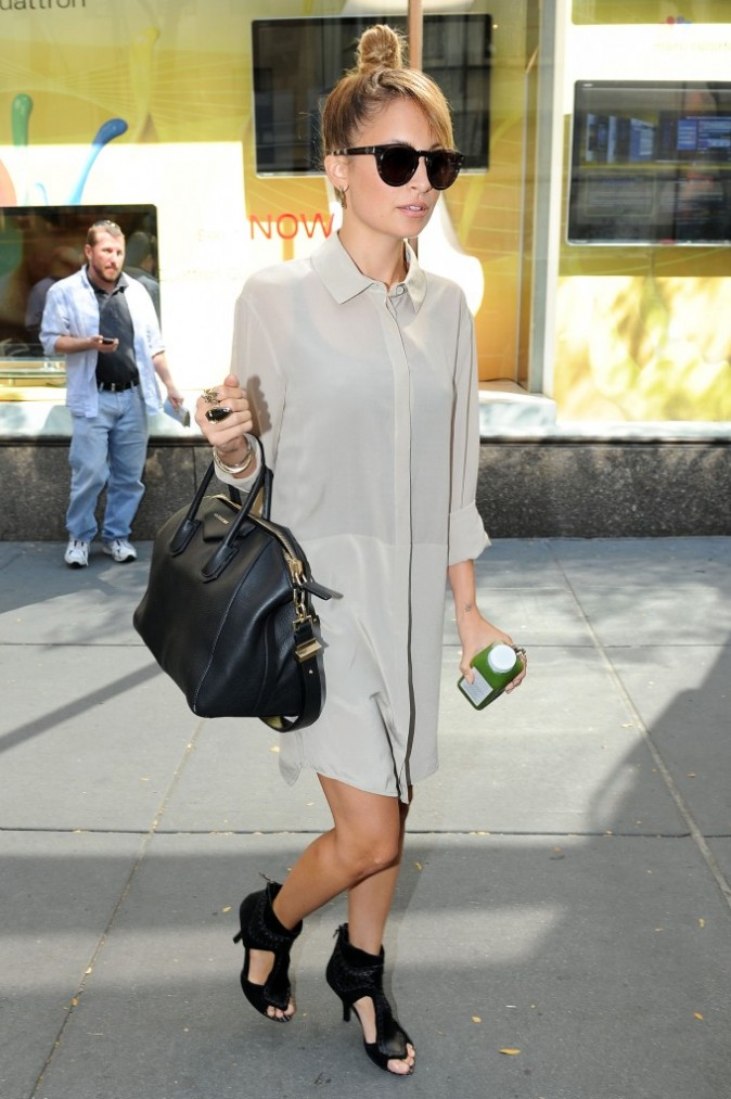 Nicole Richie à New York, le 12 septembre 2012.