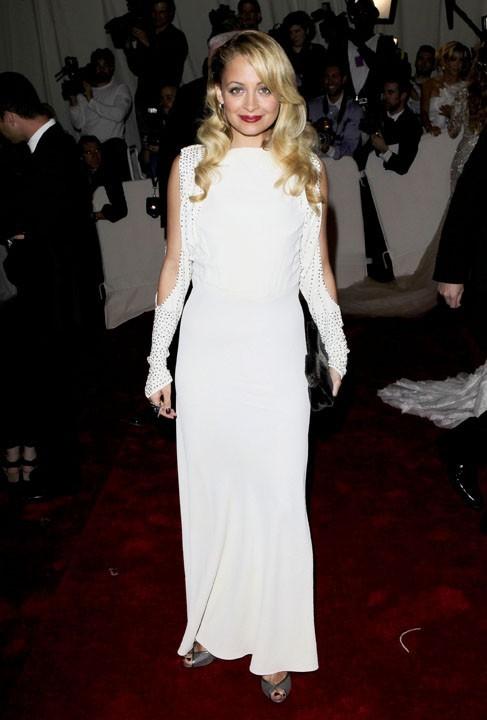 Nicole Richie au MET Ball, le 2 mai 2011 à New York.