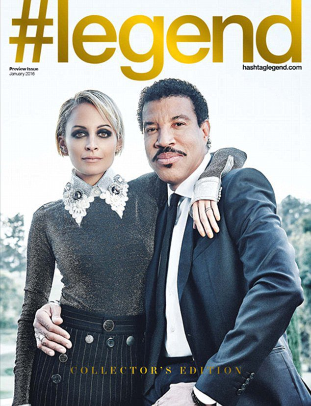 Photos : Nicole Richie : une fille à papa pour le magazine #legend