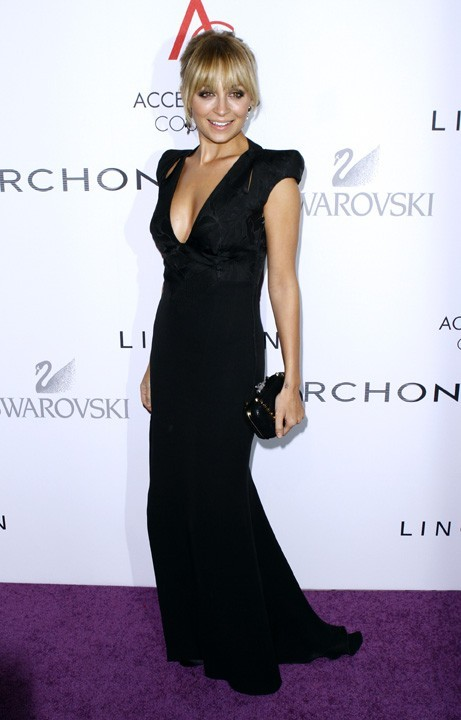 Nicole Richie hier soir à New-York !