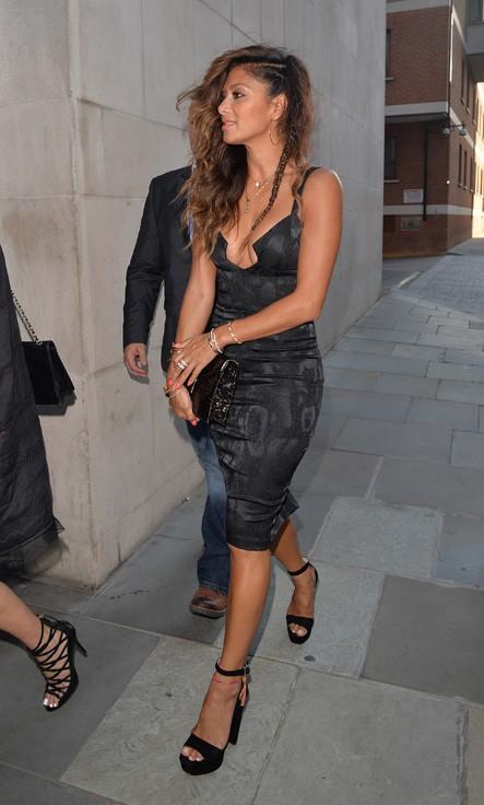 Nicole Scherzinger à Londres le 14 juillet 2014