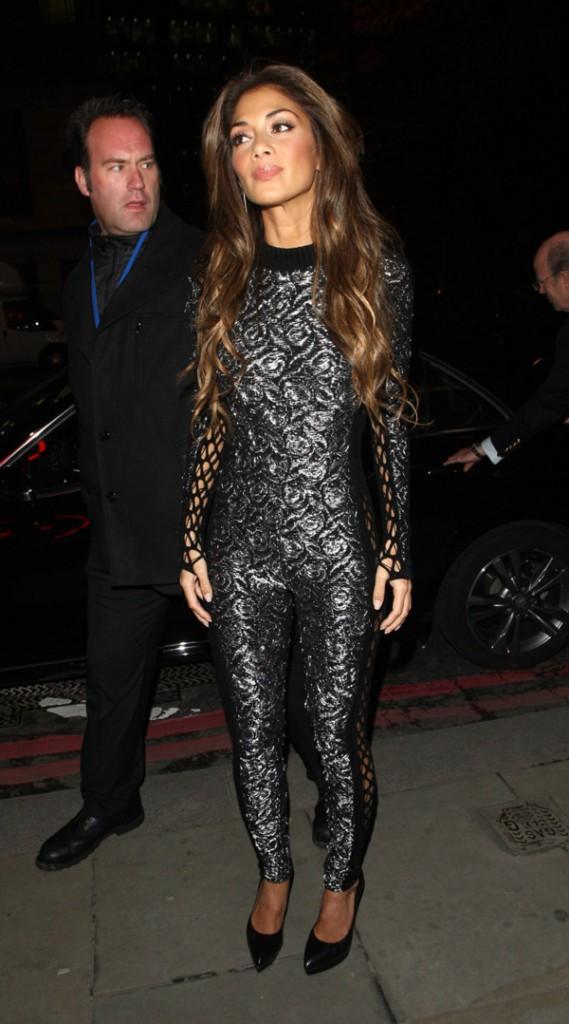 Nicole Scherzinger à Londres le 12 novembre 2013