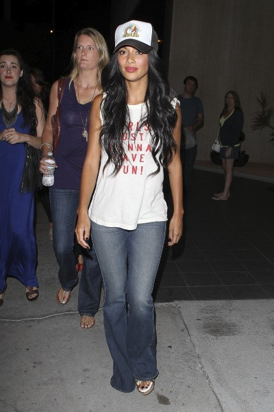 Nicole Scherzinger à West Hollywood, le 11 juillet 2012.