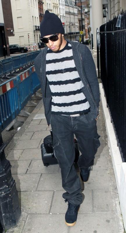 Lewis Hamilton le 12 novembre 2012 à Londres