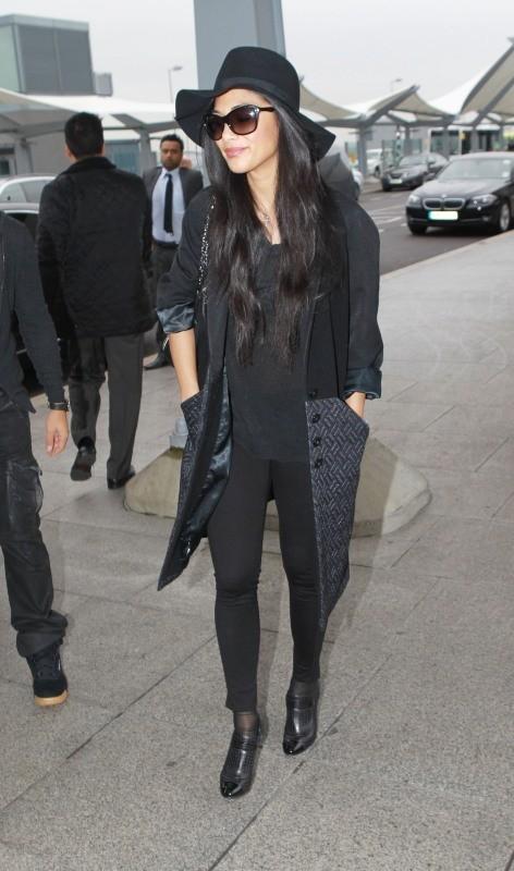 Nicole Scherzinger le 12 novembre 2012 à Londres