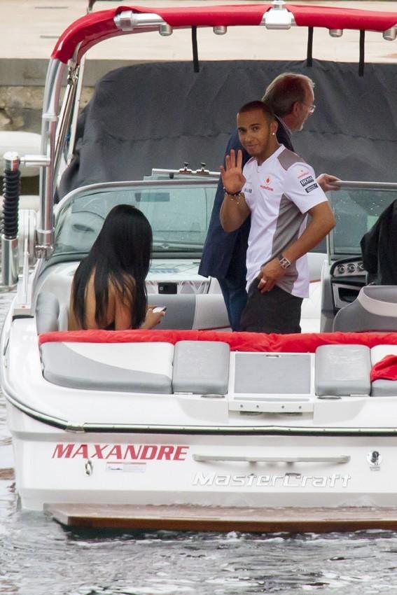 Nicole Scheringer et Lewis Hamilton réunis à Monaco !
