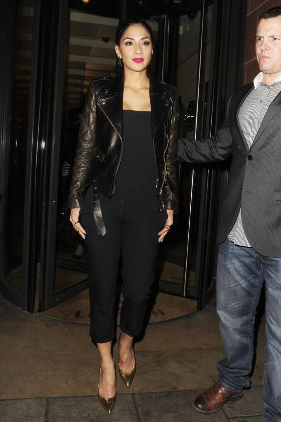Nicole Scherzinger à Londres le 7 mars 2013