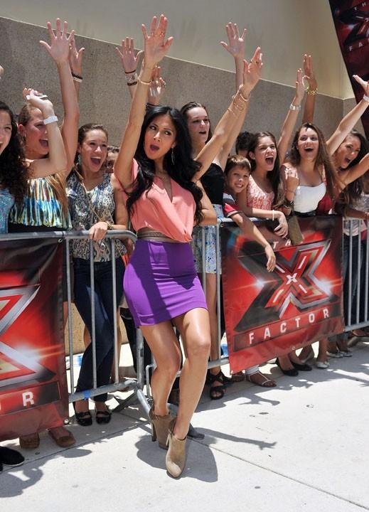 Nicole Scherzinger toujours excitée lorsqu'il y a des fans !