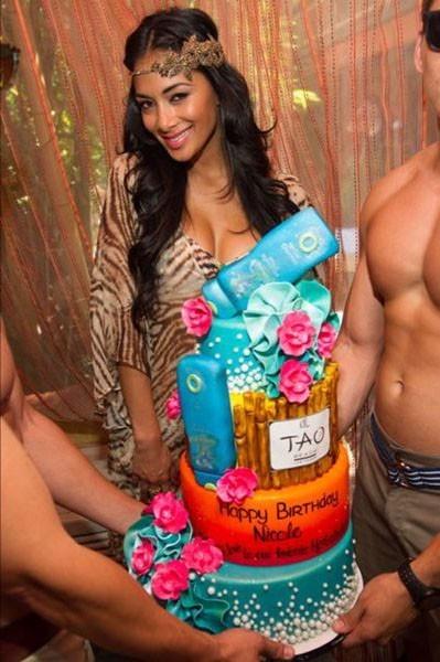 Nicole Scherzinger au Tao Club de Las Vegas le 23 juin 2012