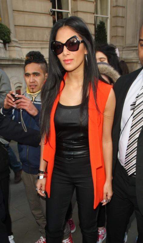 Nicole Scherzinger, Londres, 4 mars 2013.