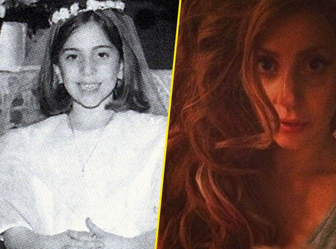 "Lady Gaga :""J'étais une voluptueuse petite fille italienne"""