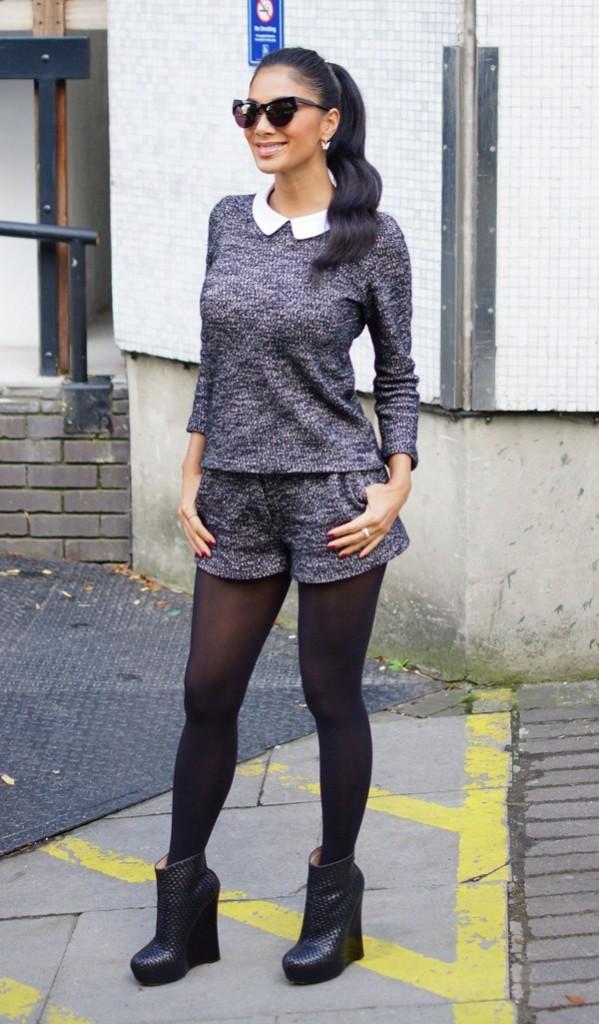 Nicole Scherzinger à Londres le 4 octobre 2012