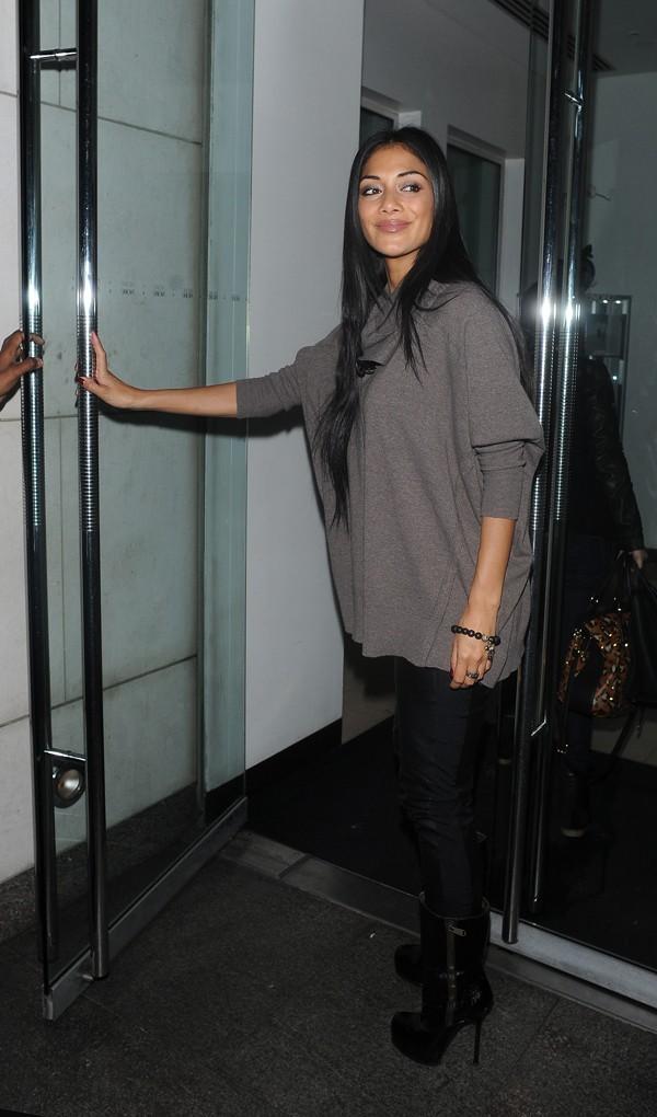 Nicole Scherzinger à Londres le 8 octobre 2012