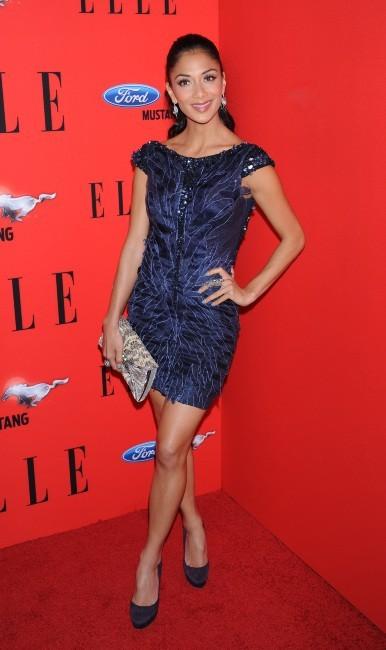 Nicole Scherzinger lors de la soirée Elle's Women In Music à Los Angeles, le 11 avril 2012.