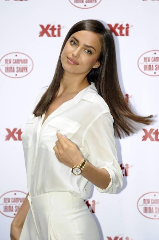 Irina Shayk le 10 mai 2013 à Madrid