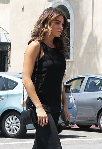 Nikki Reed à Los Angeles le 8 août 2014