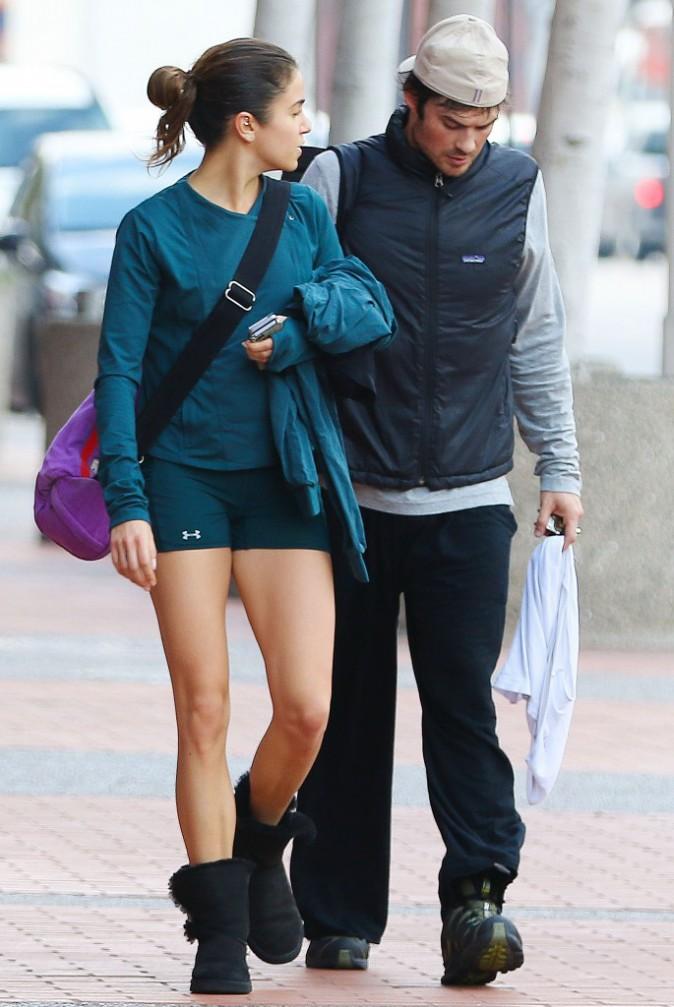 Nikki Reed et Ian Somerhalder le 30 décembre 2014