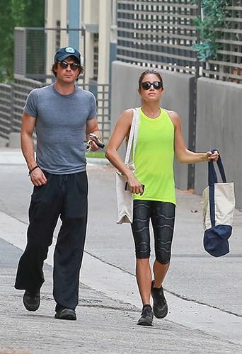 Nikki Reed et Ian Somerhalder à Los Angeles le 20 juillet 2014
