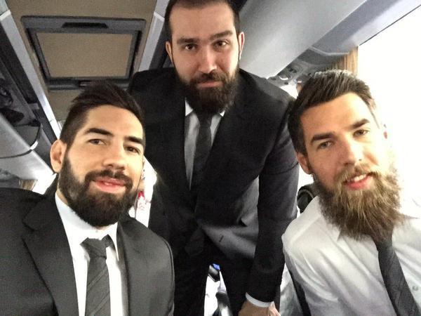 "Photos : Nikola Karabatic, Thierry Omeyer, Daniel Narcisse... : Les ""Experts"" du handball en visite à l'Élysée !"