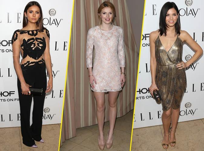 Photos : Nina Dobrev, Bella Thorne, Jenna Dewan… sensualité et délicatesse au rendez-vous pour Elle !