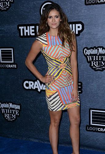 Nina Dobrev à San Diego le 25 juillet 2014