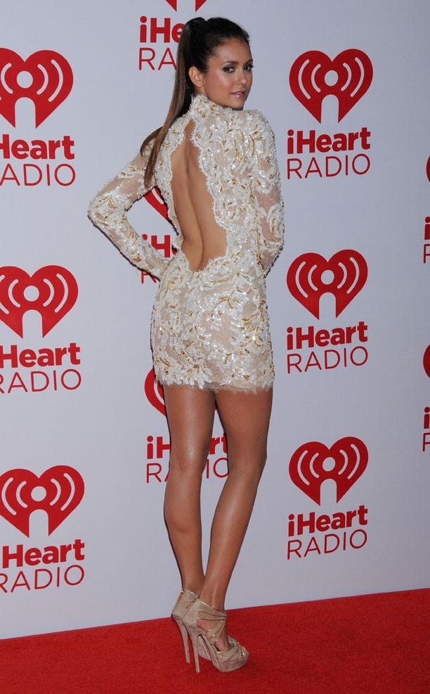 Nina Dobrev au iHeartRadio Music Festival de Las Vegas le 22 septembre 2012