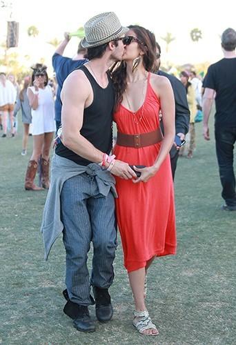 Amoureux comme jamais au Festival de Coachella à Indio, le 16 avirl 2012