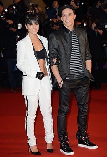 Alizée et Grégoire Lyonnet à Cannes le 14 décembre 2013