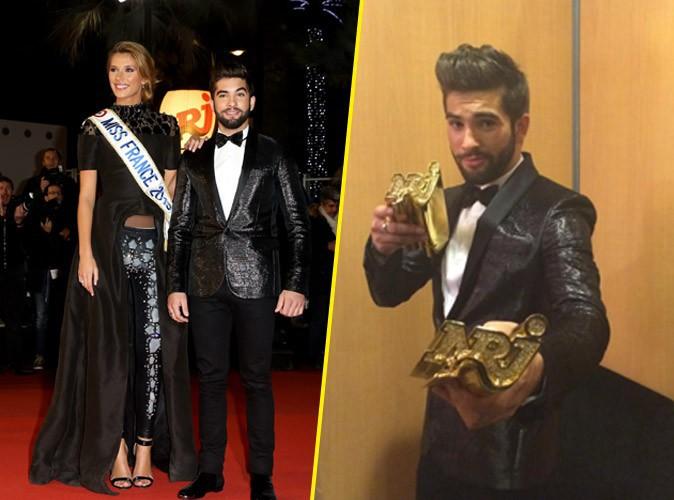 Photos : NMA 2014 : Kendji Girac : grand vainqueur, il s'offre Miss France… Découvrez le palmarès !