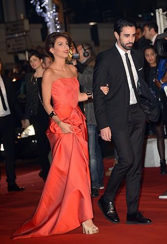 Tal et son chéri Anthony à Cannes le 14 décembre 2013