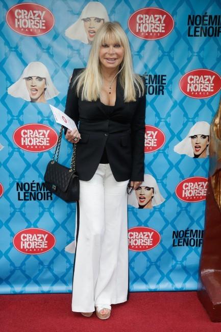 Lova Moor lors de la première de Noémie Lenoir au Crazy Horse, le 2 juin 2013 à Paris