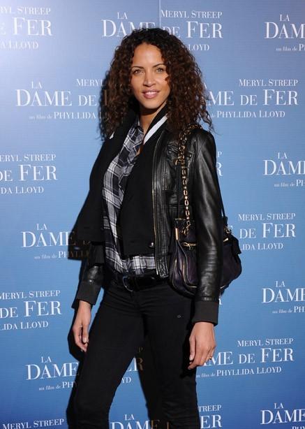 Noémie Lenoir hier à l'avant-première de La Dame de Fer à Paris !